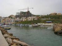 panorama dal molo del porticciolo - 16 aprile 2006  - Marinella di selinunte (3857 clic)