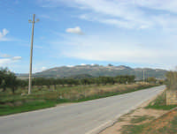 Caltabellotta vista dalla campagna di Ribera - 9 novembre 2008   - Caltabellotta (870 clic)