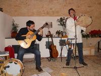 Concerto NAPOLINCANTO - Domenico De Luca (chitarra solista e percussione), Gianni Aversano (voce e chitarra) - 10 dicembre 2009   - Alcamo (2759 clic)