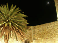 Castello arabo normanno - particolare del cortile interno - 2 gennaio 2009   - Salemi (2190 clic)