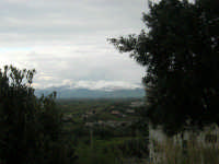 periferia alcamese e monti palermitani innevati - 15 febbraio 2009   - Alcamo (2568 clic)