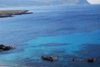 Golfo del Cofano: panorama da Macari - 24 febbraio 2008   - San vito lo capo (523 clic)