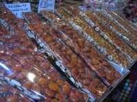 bancarella di . . . leccornie - croccante nocciole - BeliCittà - 7 dicembre 2009    - Castelvetrano (5033 clic)