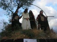 Processione della Via Crucis con gruppi statuari viventi - 5 aprile 2009   - Buseto palizzolo (1419 clic)