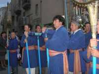 Processione in onore di Maria Santissima dei Miracoli, patrona di Alcamo - Corso VI Aprile - 21 giugno 2009   - Alcamo (2263 clic)