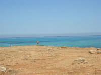 Golfo del Cofano: paesaggio brullo, mare spettacolare - 23 agosto 2008  - San vito lo capo (494 clic)