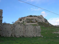 Castello - Chiesa ed Eremo S. Pellegrino - 9 novembre 2008  - Caltabellotta (1113 clic)