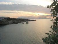 la costa ed il golfo di Castellammare al tramonto - 23 settembre 2007  - Terrasini (1734 clic)