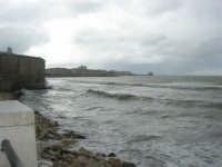 vista dal Lungomare Dante Alighieri fino alla Torre di Ligny - 8 febbraio 2009  - Trapani (3468 clic)