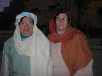 Epifania drammatizzata con quadri viventi a Salemi - interpreti durante le prove - 6 gennaio 2009    - Salemi (2986 clic)