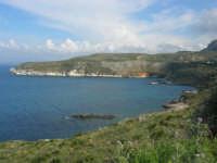 Golfo di Castellammare - la costa tra Guidaloca e Castellammare del Golfo - 5 aprile 2009   - Castellammare del golfo (982 clic)