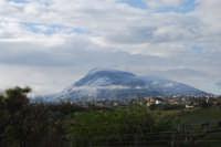 Monte Bonifato innevato - 14 febbraio 2009   - Alcamo (2568 clic)