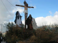 Processione della Via Crucis con gruppi statuari viventi - 5 aprile 2009   - Buseto palizzolo (2301 clic)
