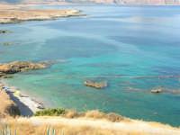 Macari - dalla sosta panoramica il mare stupendo del golfo del Cofano - 8 agosto 2008   - San vito lo capo (599 clic)