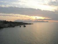 la costa ed il golfo di Castellammare al tramonto - 23 settembre 2007  - Terrasini (1397 clic)