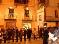festa dell'Immacolata: la processione nel corso VI Aprile - 8 dicembre 2009  - Alcamo (2223 clic)