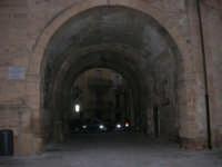 visita al centro storico - la galleria in Piazza Carlo d'Aragona e Tagliavia - 9 dicembre 2007  - Castelvetrano (814 clic)