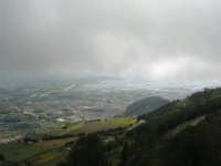panorama con foschia dal monte Erice - Trapani, le saline - 1 maggio 2009   - Erice (1879 clic)