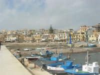 il paese visto dal porto - 1 marzo 2009  - Marinella di selinunte (1612 clic)