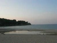 Baia di Guidaloca: foce del fiume (che non riesce a raggiungere il mare) e gabbiani - 26 aprile 2007  - Castellammare del golfo (818 clic)