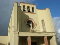 CROCEVIE - frazione di Valderice - particolare della Chiesa parrocchiale - 1 febbraio 2009  - Valderice (3178 clic)