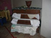 Cene di San Giuseppe - mostra di manufatti - pizzi e ricami - 15 marzo 2009  - Salemi (2562 clic)