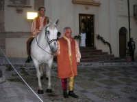2° Corteo Storico di Santa Rita - cavaliere in Piazza Madonna delle Grazie - 17 maggio 2008   - Castellammare del golfo (587 clic)