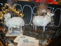 Cene di San Giuseppe - prodotti tipici enogastronomici - agnelli pasquali - 15 marzo 2009   - Salemi (2323 clic)