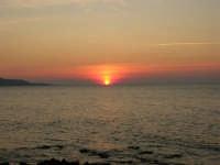 Golfo di Bonagia - tramonto - 12 ottobre 2008   - Cornino (700 clic)