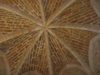 Castello arabo normanno - soffitto all'interno della torre - 2 gennaio 2009   - Salemi (2549 clic)