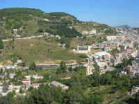 uno scorcio della città visto dalla rupe - 4 ottobre 2007  - Calatafimi segesta (789 clic)