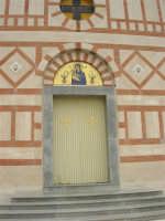 Istituto Zootecnico - Centro di Formazione SKILICA (Skliza) - Chiesa: particolare - 17 aprile 2006  - Piana degli albanesi (1235 clic)