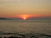 Golfo di Bonagia - tramonto - 12 ottobre 2008   - Cornino (698 clic)