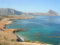 Macari - dalla sosta panoramica il mare stupendo del golfo del Cofano - 8 agosto 2008   - San vito lo capo (549 clic)