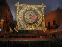 Festeggiamenti Maria SS. dei Miracoli - illuminazione straordinaria in Piazza Ciullo - 20 giugno 2008   - Alcamo (605 clic)