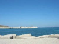 lavori in corso al porto - 2 ottobre 2007  - Castellammare del golfo (573 clic)