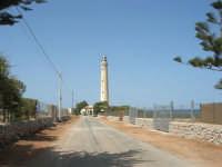 la strada che porta al faro - 23 agosto 2008  - San vito lo capo (503 clic)
