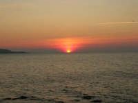 Golfo di Bonagia - tramonto - 12 ottobre 2008   - Cornino (680 clic)