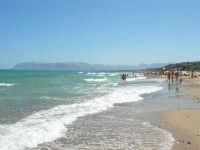 zona Plaja - il mare del golfo di Castellammare - 18 agosto 2008   - Alcamo marina (899 clic)