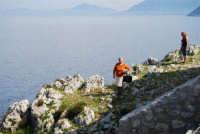 Capo San Vito - vista sul golfo di Castellammare dalla Torre dell'Usciere - 10 maggio 2009  - San vito lo capo (1750 clic)