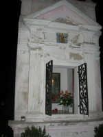 MATAROCCO - edicola votiva nel centro della piazza - 30 novembre 2008   - Marsala (971 clic)