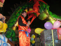 Carnevale 2008 - XVII Edizione Sfilata di Carri Allegorici - Dragon Ball - Associazione Bonagia - 3 febbraio 2008   - Valderice (1189 clic)