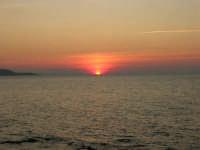 Golfo di Bonagia - tramonto - 12 ottobre 2008   - Cornino (863 clic)