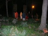 Parco Urbano della Misericordia - LA BIBBIA NEL PARCO - Quadri viventi: 8. Gesù entra in Gerusalemme - 5 gennaio 2009   - Valderice (2622 clic)