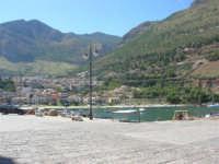 il paese visto dal porto - 2 ottobre 2007  - Castellammare del golfo (555 clic)