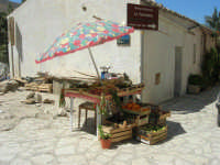 l'angolo della frutta e degli ortaggi - 18 agosto 2008   - Scopello (880 clic)