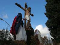 Processione della Via Crucis con gruppi statuari viventi - 5 aprile 2009   - Buseto palizzolo (1550 clic)