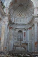 ruderi del paese distrutto dal terremoto del gennaio 1968 - 2 ottobre 2007   - Poggioreale (1370 clic)