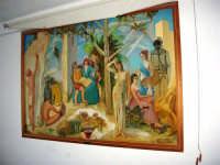 quadro esposto nell'aula magna dell'I.C. Pascoli - autore Franco Monaco - anno 1968 - 21 ottobre 2006  - Castellammare del golfo (1101 clic)