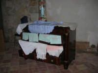 Cene di San Giuseppe - mostra di manufatti - pizzi e ricami - 15 marzo 2009  - Salemi (2211 clic)